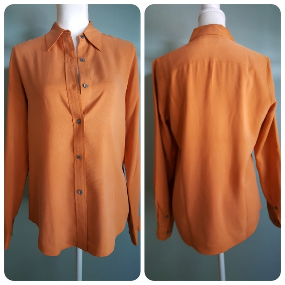 09a70788f53d55 Ann Taylor Tops | Silk Shirt | Poshmark